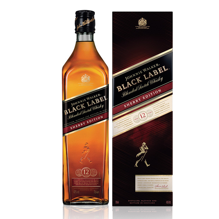 Johnnie Walker Black Label Sherry Cask