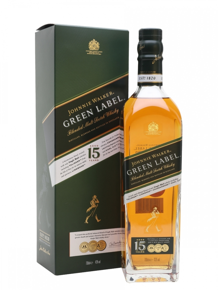 Johnnie Walker Green Label 15 YO