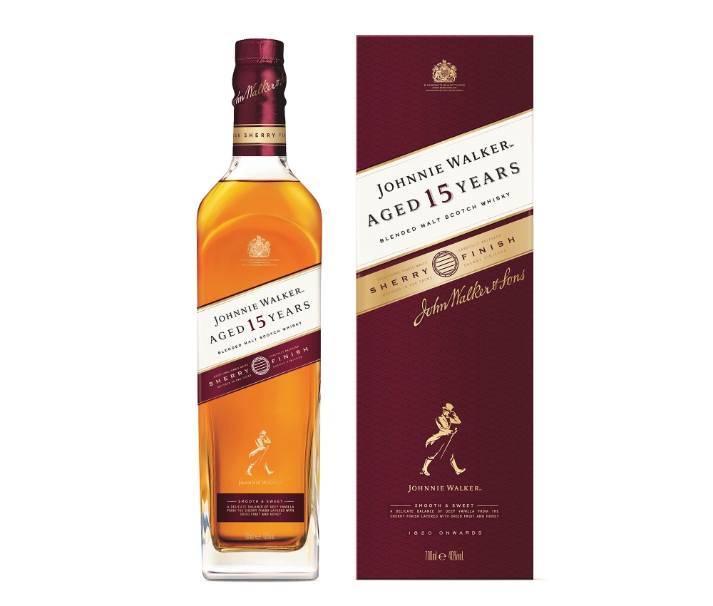 Johnnie Walker 15 YO Sherry Finish