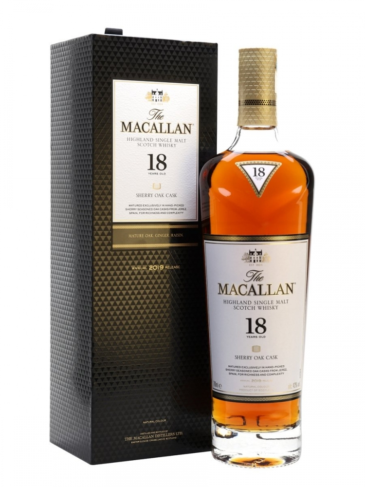 Macallan 18 YO Sherry Cask
