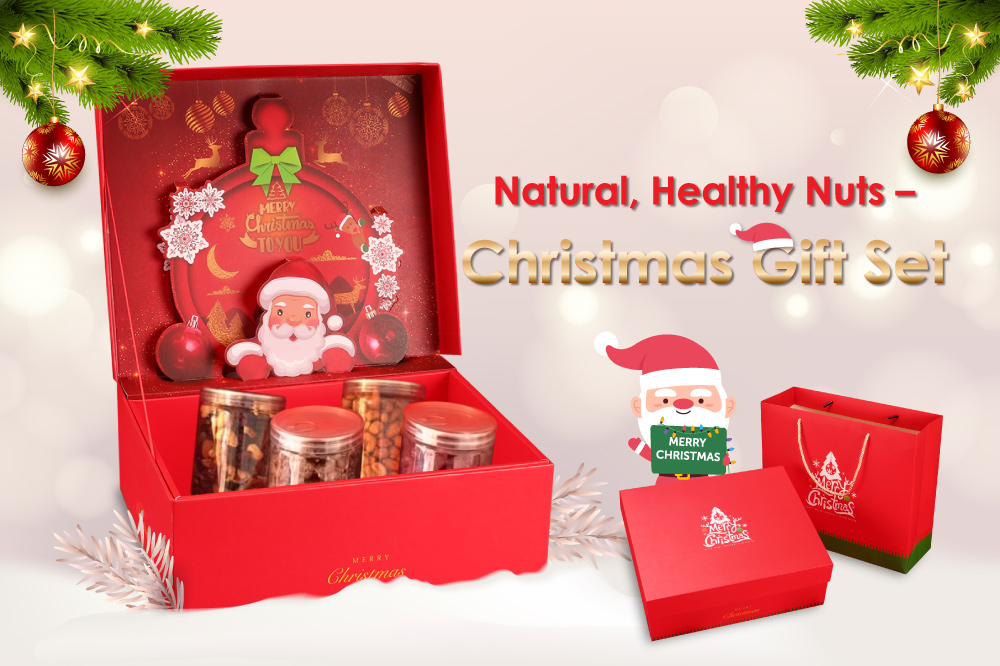 Merry Nut Gift Set