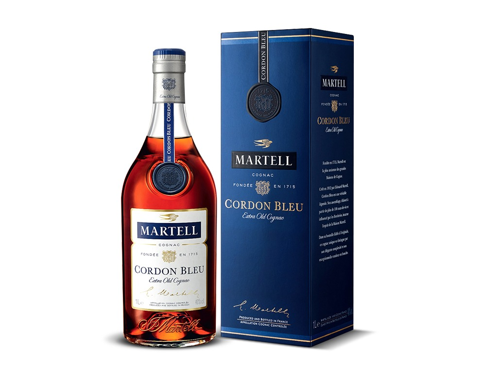 Martell Cordon Blue 300CL with Cradle