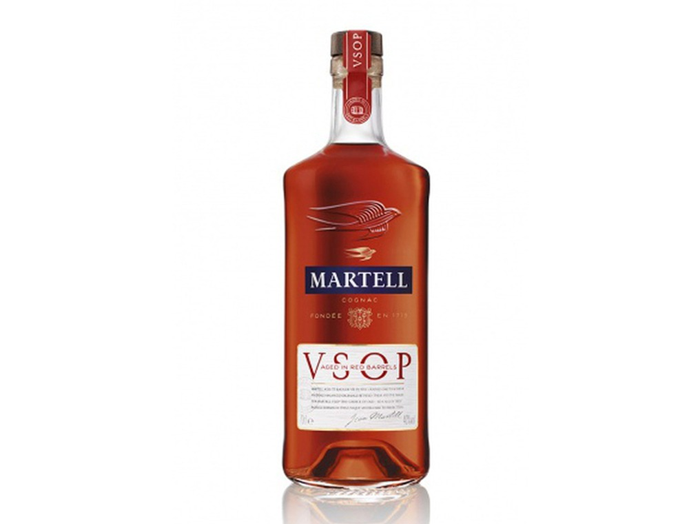 Martell VSOP Red Barrel 300CL with Cradle